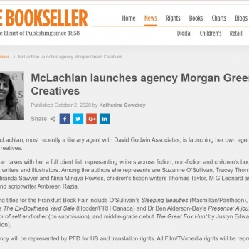My Agent Launches Morgan Green Creatives